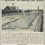 Uit de Nieuwe Leidsche Courant, augustus 1953 (Via Facebook/Clementien van Leeuwen)