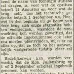 Uit De Leidsche Courant van juli 1953 (Via Facebook/Clementien van Leeuwen)
