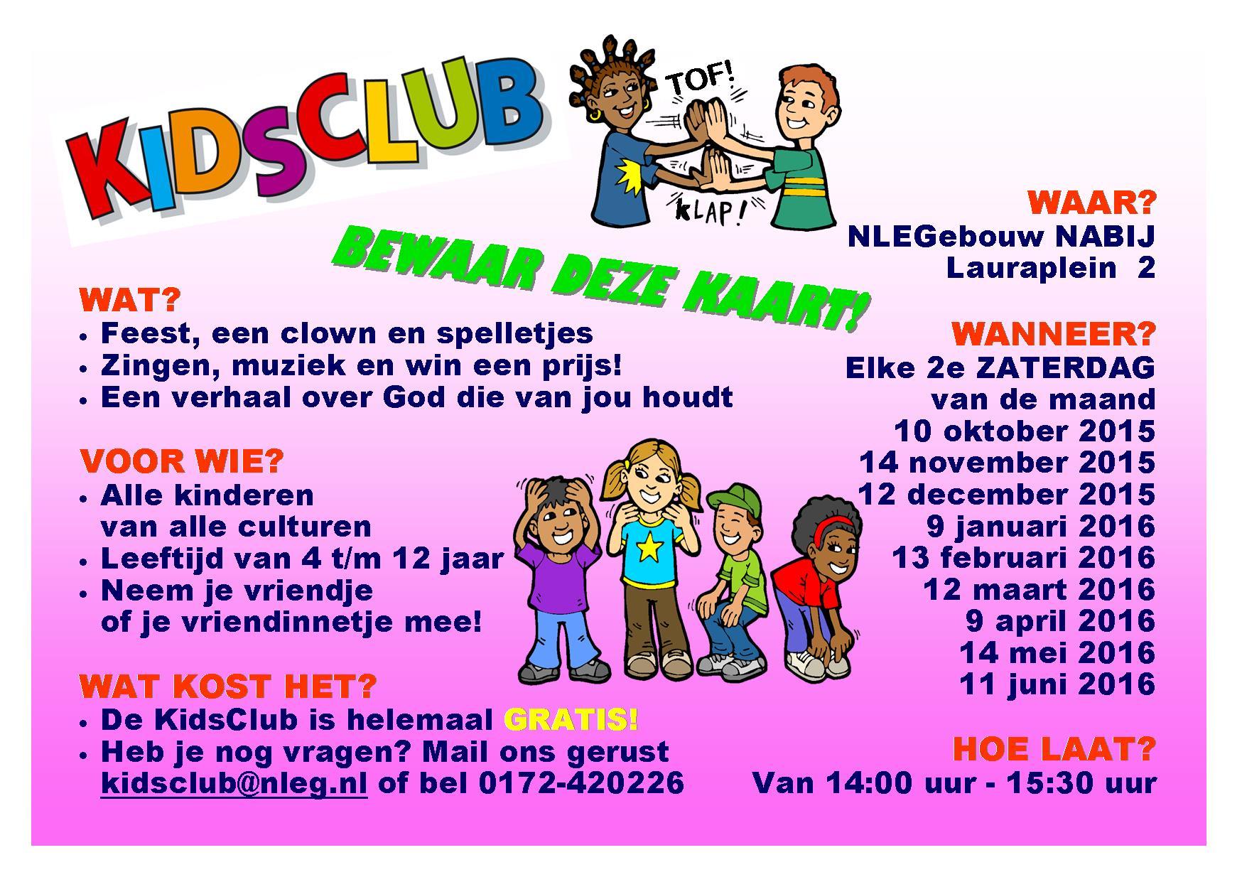 a6 KidsClub 2015-2016 folder ACHTER