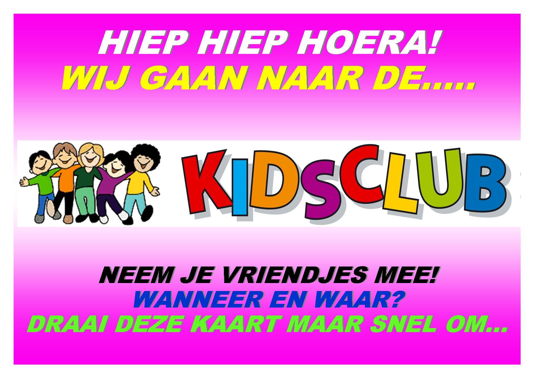 a6 KidsClub 2015-2016 folder VOOR