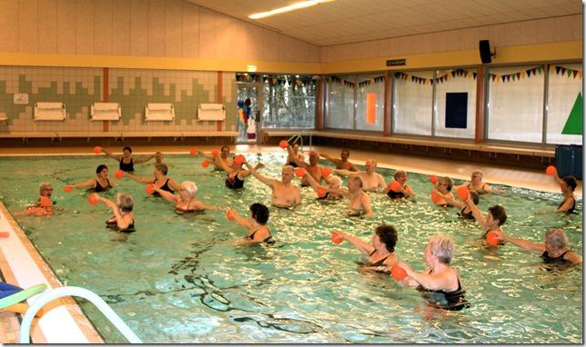 P E R S B E R I C H T Aquamaraton in zwembad De Hoorn - seniorfit